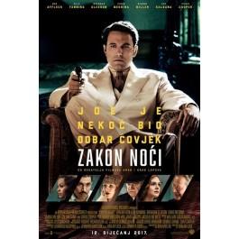 Ben Affleck Zakon Noći DVD