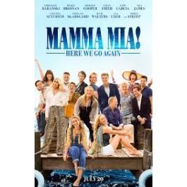 Ol Parker Mamma Mia Here We Go Again DVD