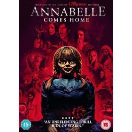 Gary Dauberman Annabelle 3 DVD