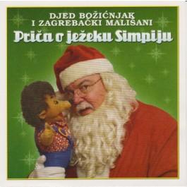 Djed Božićnjak I Zagrebački Mališani Priča O Ježeku Simpiju CD