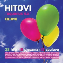 Razni Izvođači Aquarius 9.0 Hitovi CD/MP3