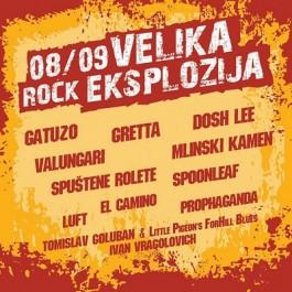 Razni Izvoači 08-09 Velika Rock Eksplozija MP3