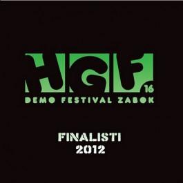 Razni Izvođači Hgf 16 Finalisti 2012 CD/MP3