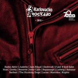 Razni Izvođači Karlovačko Rockoff 2015 CD/MP3