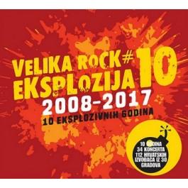 Razni Izvođači Velika Rock Eksplozija 10 CD