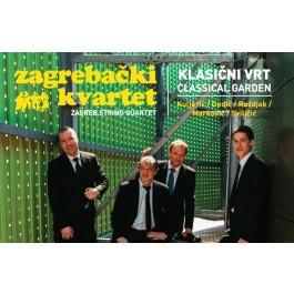 Zagrebački Gudački Kvartet Klasični Vrt Classical Garden CD