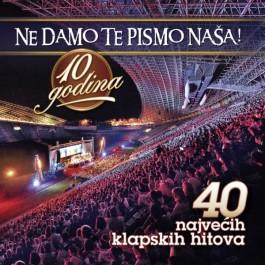 Razni Izvođači Ne Damo Te Pismo Naša - 10 Godina CD2/MP3