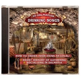 Razni Izvođači 20 Dalmatian Drinking Songs CD