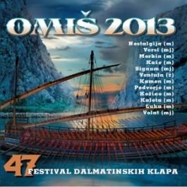 Razni Izvođači Omiš 2013, 47 Festival Dalmatinskih Klapa CD/MP3