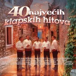 Razni Izvođači 40 Najvećih Klapskih Hitova CD2/MP3