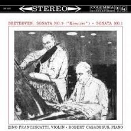 Zino Francescatti Robert Casadesus Beethoven Sonata No.9, No.1 LP
