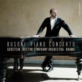 Kirill Gerstein Boston Symphony Orchestra Busoni Piano Concerto In C Major Cd CD