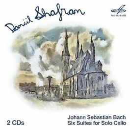 Daniil Shafram Bach Six Suites For Colo Cello CD2