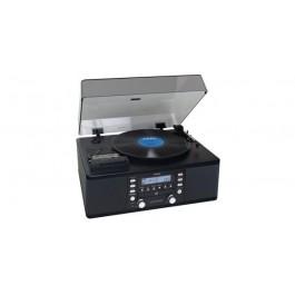 Linija Lp-R550 A Turntable System, Black GRAMOFON