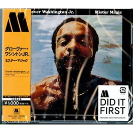 Grover Washington Jr Mister Magic Japan Ed. CD