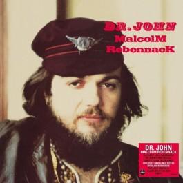 Dr John Malcolm Rebernnack Red & Black Split Colour Vinyl LP