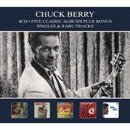 Chuck Berry Five Classic Albums Plus Singles & Rare Tracks CD4