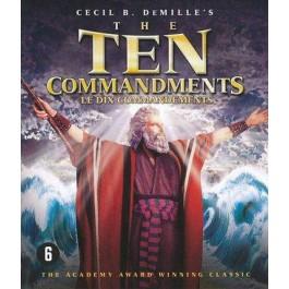Cecil B Demille Ten Commandments BLU-RAY
