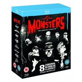 Movie Monsters 8 Original Horror Classics Nem Hr Podnaslov NLU-RAY8