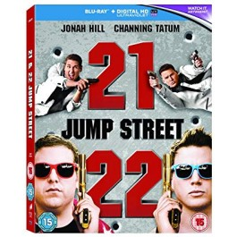 Phil Lord Christopher Miller 22 Jump Street BLU-RAY