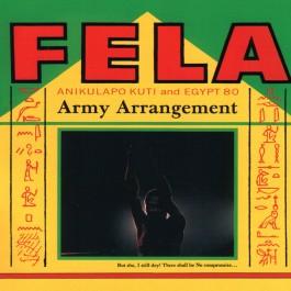 Fela Kuti Army Arrangment CD