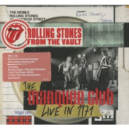 Rolling Stones From The Vault Marquee Club, Live In 1971 CD+DVD