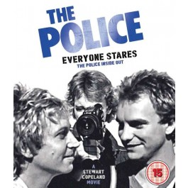 Police Everyone Stares Film By Stewart Copeland BLU-RAY