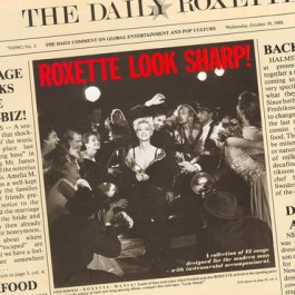 Roxette Look Sharp Clear Vinyl LP