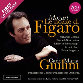 Carlo Maria Giulini Philharmonia Chorus Mozart Le Nozze Di Figaro CD2