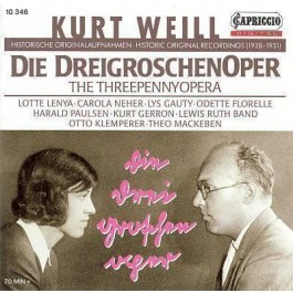 Various Artists Weill Die Dreigroschenoper CD