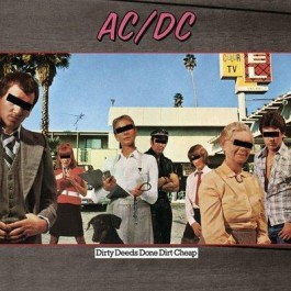 Ac/dc Dirty Deeds Done Dirt Cheap LP