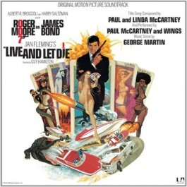 Soundtrack James Bond Live & Let Die LP