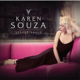 Karen Souza Velevet Vault Gold Vinyl LP