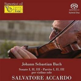 Salvatore Accardo Bach Sonate 1, 2, 3, Partite 1, 2, 3 Per Violino Solo SACD2