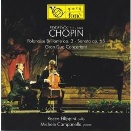 Rocco Filippini Michele Campanella Chopin Polonaise Brillante SACD
