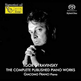 Giacomo Franci Stravinsky The Complete Published Piano Works SACD2