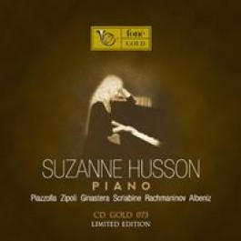 Suzanne Husson Piano Gold Cd Limited Edition CD