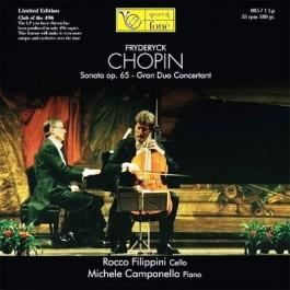 Rocco Filippini Michele Campanella Chopin Sonata Op. 65 Limited LP