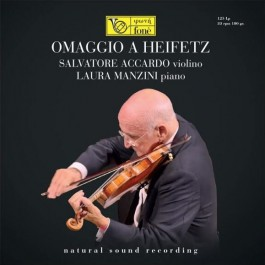 Salvatore Accardo Laura Manzini Omaggio A Heifetz SACD