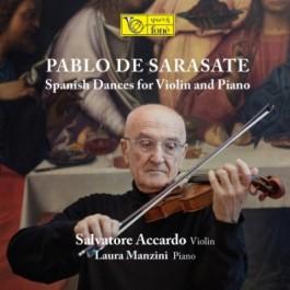 Salvatore Accardo Laura Manzini Sarasate Spanish Dances For Violin And Piano SACD