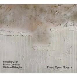 Stefano Battaglia Roberto Caon Marco Carlesso Three Open Rooms CD