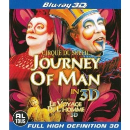 Cirque Du Soleil Journey Of Man 3D BLU-RAY