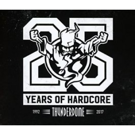 Various Artists Thunderdome 25 Years Of Hardcore 1992-2017 CD4
