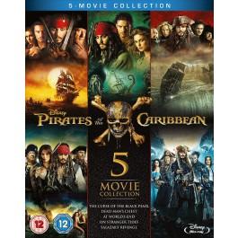 Movie Pirates Of The Caribbean 5 Movie Collection Nema Hr Podnaslov BLU-RAY5