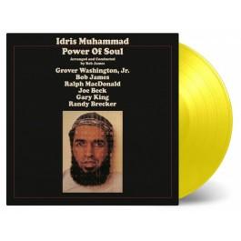 Idris Muhammad Power Of Soul Limited Yellow LP