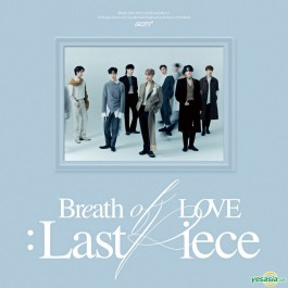 Got7 Breath Of Love Last Piece Deluxe CD+KNJIGA