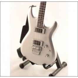 Mini Gitara Ibanez Js Chrome Boy - Joe Satriani Replica SUVENIR