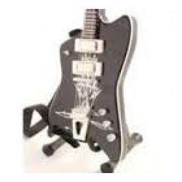 Mini Gitara Thunderbird Bl. Reverse Jupiter - Billy Gibbons Zz Top Replica SUVENIR