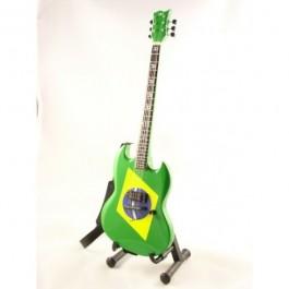 Mini Gitara Gibson Sg - Max Cavalera Soulfly Replica SUVENIR