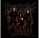 Immortal Damned In Black Coloured Vinyl LP